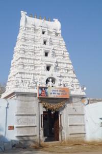 newly built gopuram