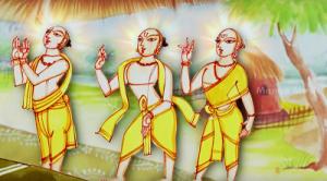 Brahma , Vishnu , Mahesh