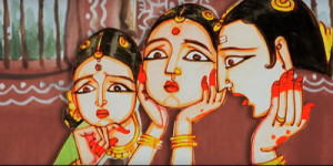 Vani , Laxmi and Parvathi were worried about their husbands