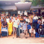 Books & other stationery to Physically Challenged.