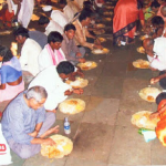 Annadaan at Ganugapur in 2006