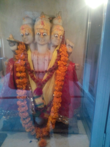 Datta Murthy in Bindumadhav temple