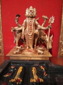 Lord Dattatreya Idol arrived from Ganagapur