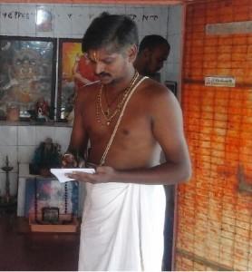 Fixing Muhurath date by Prasadacharya